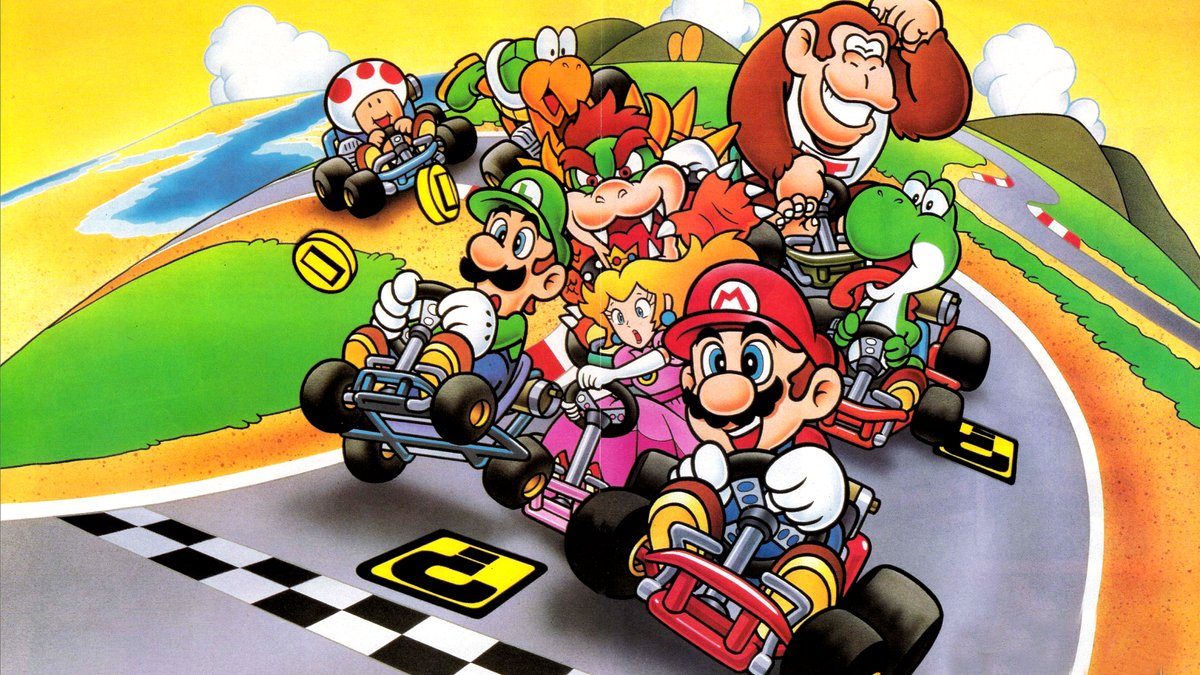 super mario kart 1992 jeu vid o senscritique. Black Bedroom Furniture Sets. Home Design Ideas