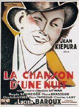 Affiche La Chanson d'une nuit