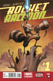 Couverture Rocket Raccoon (2014 - 2015)