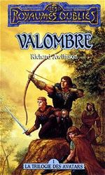 Couverture Valombre - La Séquence des avatars, tome 1