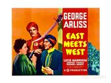 Affiche East Meets West