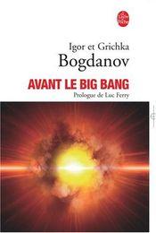 Couverture Avant le big-bang