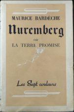 Couverture Nuremberg ou la Terre promise