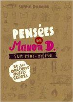 Couverture Pensées de Manon D