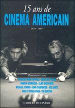 Couverture 15 ans de cinéma américain