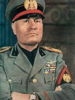 Photo Benito Mussolini