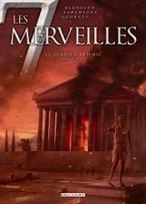 Couverture Le Temple d'Artémis - Les 7 Merveilles, tome 4