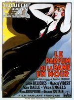 Affiche Le Parfum de la dame en noir