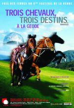 Affiche Trois chevaux, trois destins