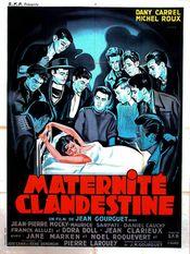 Affiche Maternité clandestine