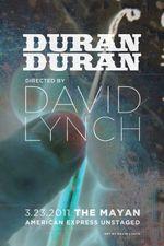 Affiche Duran Duran: Unstaged