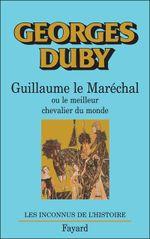 Couverture Guillaume le Maréchal