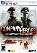 Jaquette Company of Heroes: Opposing Fronts