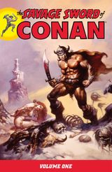 Couverture The Savage Sword of Conan, Volume 1