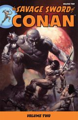 Couverture The Savage Sword of Conan, Volume 2
