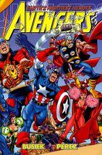 Couverture Avengers by Kurt Busiek & George Perez Omnibus, Volume 1