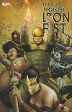 Couverture The Immortal Iron Fist: The Complete Collection, Volume 2