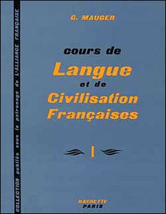 Couverture Cours de langue et de civilisation françaises