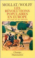 Couverture Les révolutions populaires en Europe aux XIVe et XVe siècles
