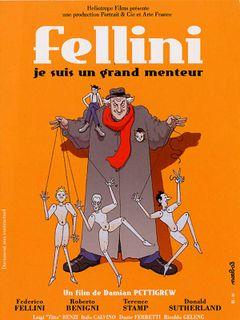 Affiche Fellini, je suis un grand menteur