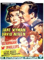Affiche L'Extravagant M. Philips