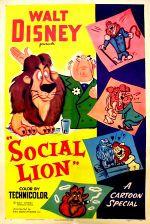 Affiche Un lion de société
