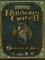 Jaquette Baldur's Gate II : Shadows of Amn
