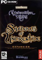 Jaquette Neverwinter Nights : Shadows of Undrentide