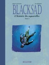 Couverture Blacksad : L'Histoire des aquarelles, tome 2