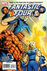 Couverture Fantastic Four (1998 - 2012)