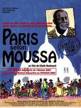 Affiche Paris selon Moussa