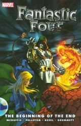 Couverture Fantastic Four: The Beginning of the End