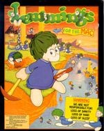 Jaquette Lemmings for the Mac