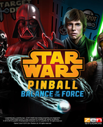 Jaquette Pinball FX 2 : Star Wars - Balance of the Force Pack