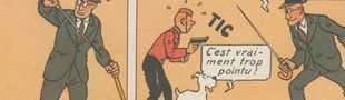 Cover Tintin transformiste (une liste pointue)