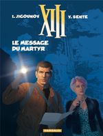 Couverture Le Message du martyr - XIII, tome 23