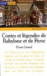 Couverture Contes et légendes de Babylone et de Perse