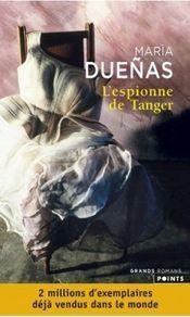 Couverture L'espionne de Tanger