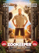 Affiche Zookeeper, le héros des animaux