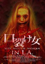 Affiche Slit Mouth Woman in LA