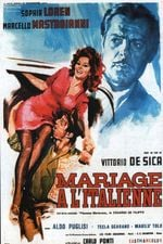 Affiche Mariage à l'Italienne