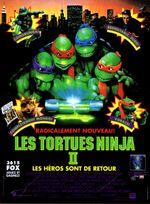 Affiche Les Tortues Ninja 2
