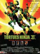 Affiche Les Tortues Ninja 3