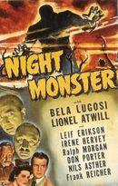 Affiche Night Monster
