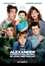 Affiche Alexander and the Terrible, Horrible, No Good, Very Bad Day