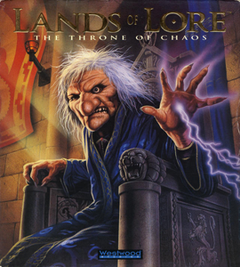 Jaquette Lands of Lore: The Throne of Chaos
