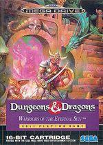 Jaquette Dungeons & Dragons : Warriors of the Eternal Sun