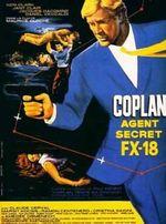 Affiche Coplan, agent secret FX 18