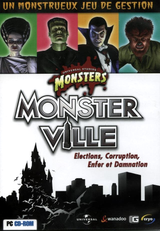 Jaquette Universal Monsters : Monster Ville