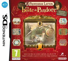 Jaquette Professeur Layton et la Boîte de Pandore